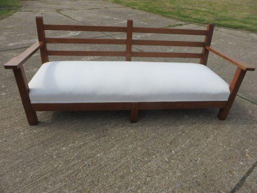 Arts and Craft long sofa