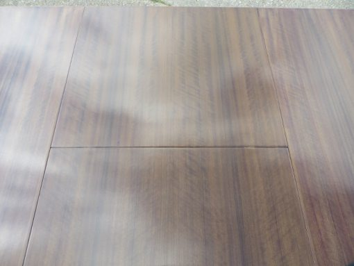 Heals Walnut Draw leaf showing detail of grain