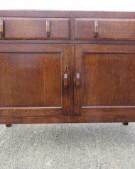 Heals oak sideboard