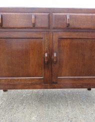 Heals oak sideboard