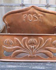 KSIA Arts and Craft Copper Post Box