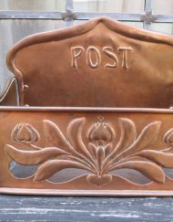 KSIA Arts and Craft Copper Post Box