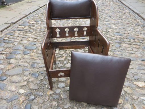 Arts and Craft Arm chair Goodyer Regents Street London