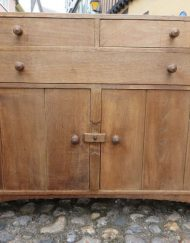Heals Oak Dresser base good unrestored condition