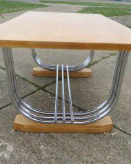 Art Deco P.E.L Table Blonde wood