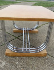 Art Deco P.E.L Table Blonde wood
