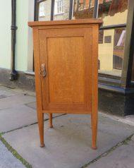 Bedside Cabinet Oak Arts and Craft