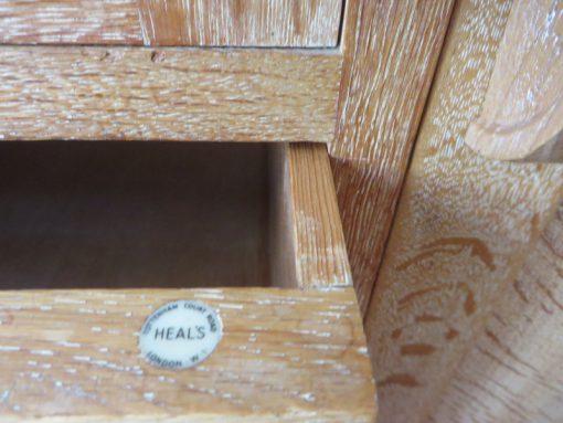 heals nursery cupboard label