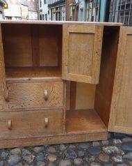 Heals Limed Oak Nursery Cupboard